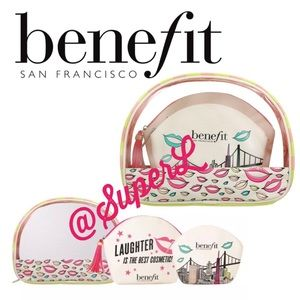 Benefit Nesting Makeup Travel Bag Pouch laughter